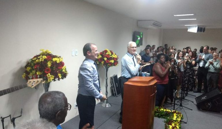 Inauguração da Maranata 25 de Agosto,