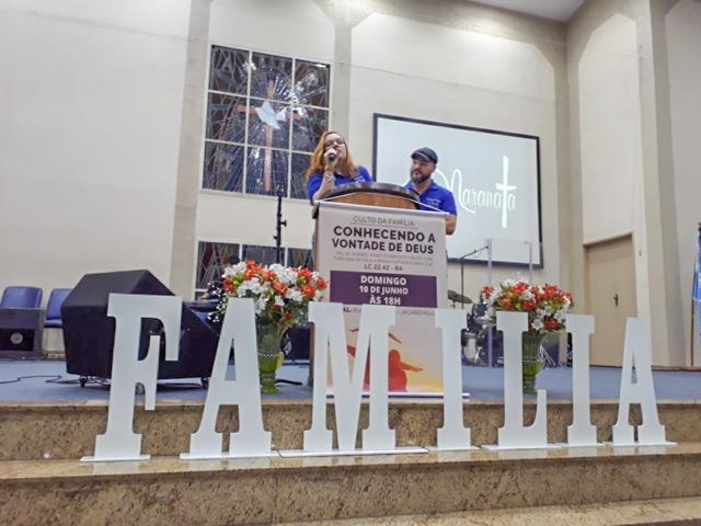 Culto da Família em Jacarepaguá – Junho 2018