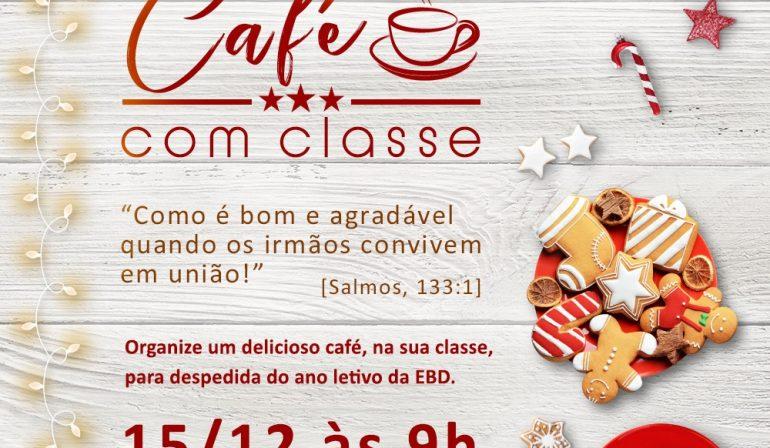 Café com Classe nas EBDs