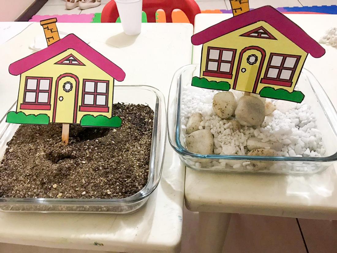 Crianças construtoras